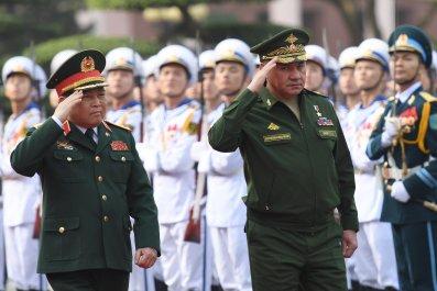 Sergey Shoygu and Ngo Xuan Lich Russia Vietnam