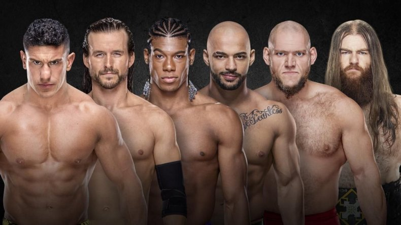 nxt takeover new orleans ladder match