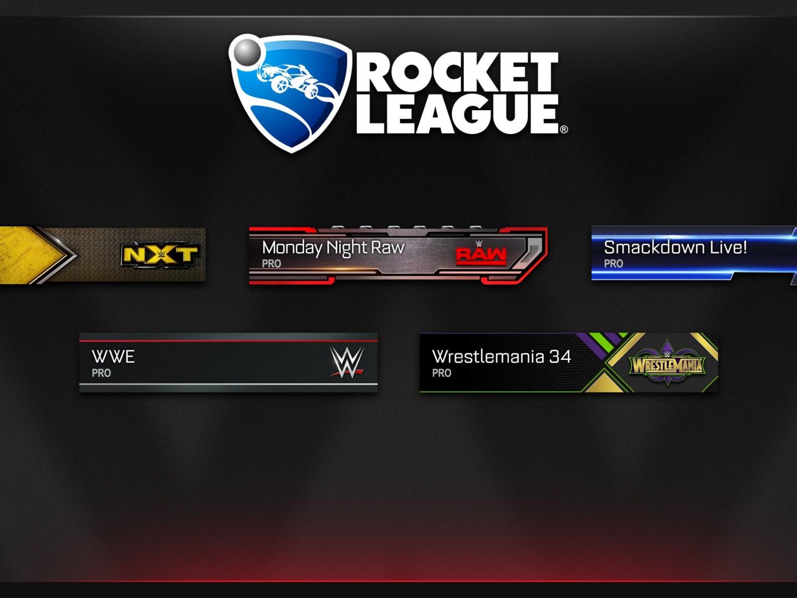 rocket league special edition items list