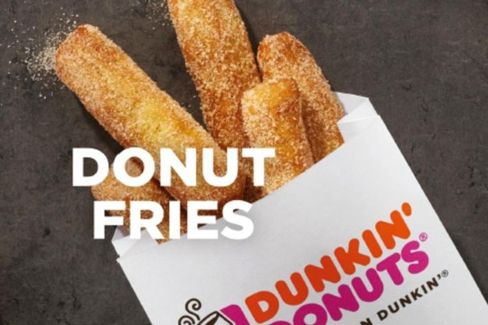 Donut Fries Where To Buy Dunkin Donuts Newest Snack