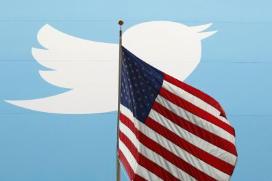 Twitter and American Flag
