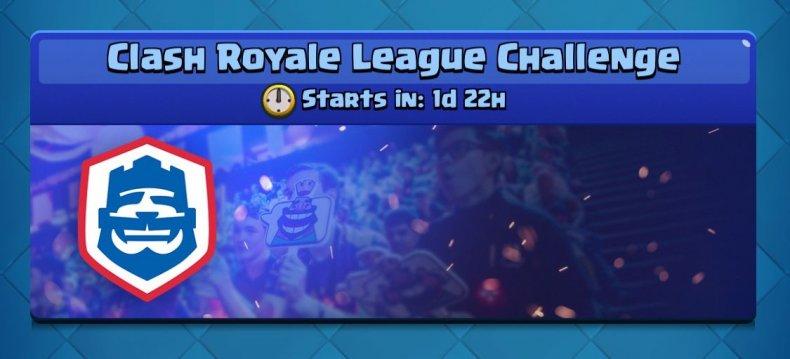 Clash Royale League Challenge logo