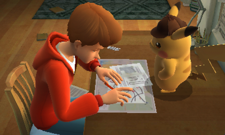 detective pikachu and tim