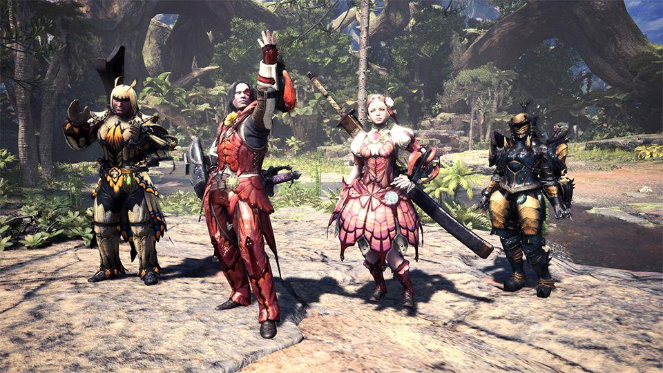 monster hunter world spring blossom gear