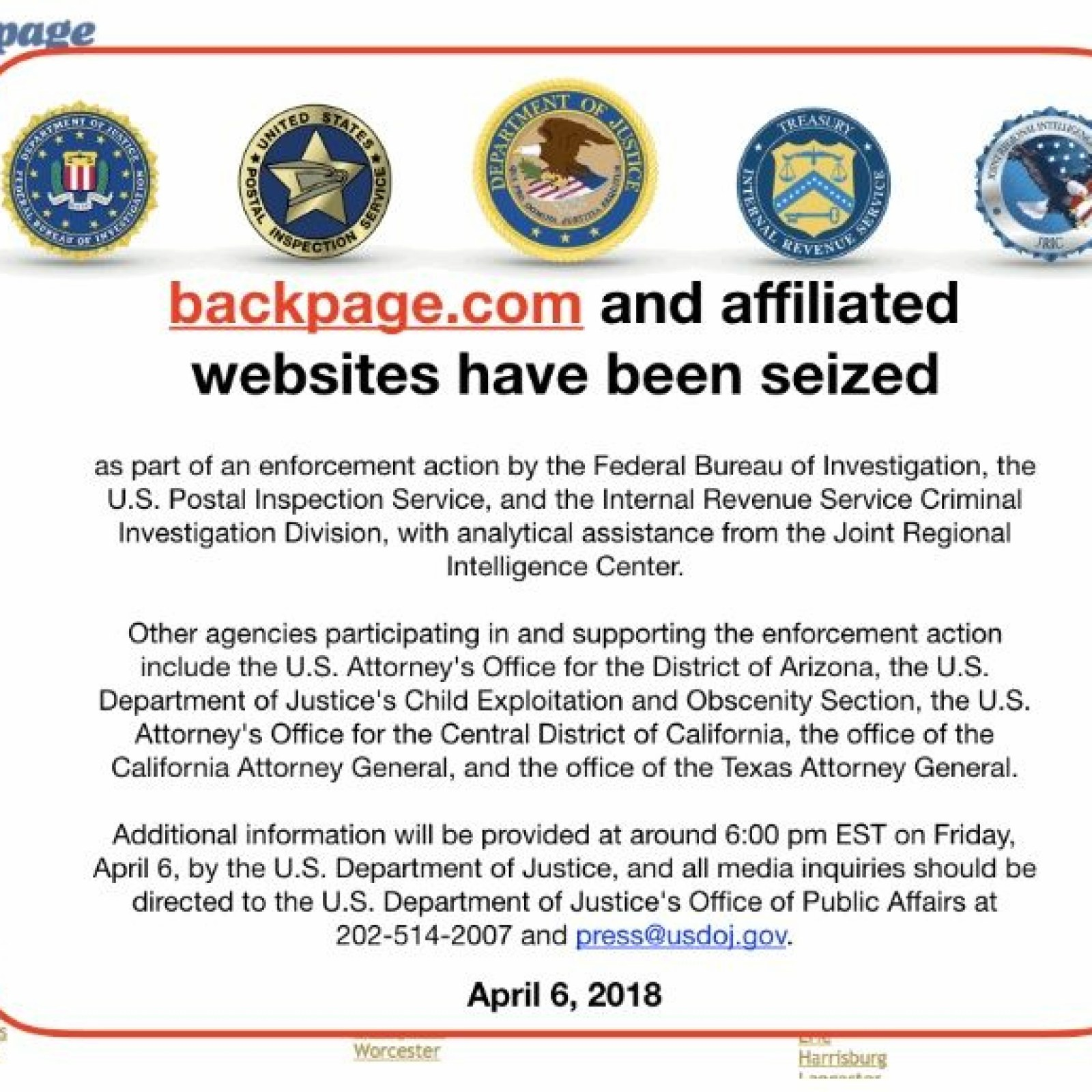 Backpage website shut down alternative