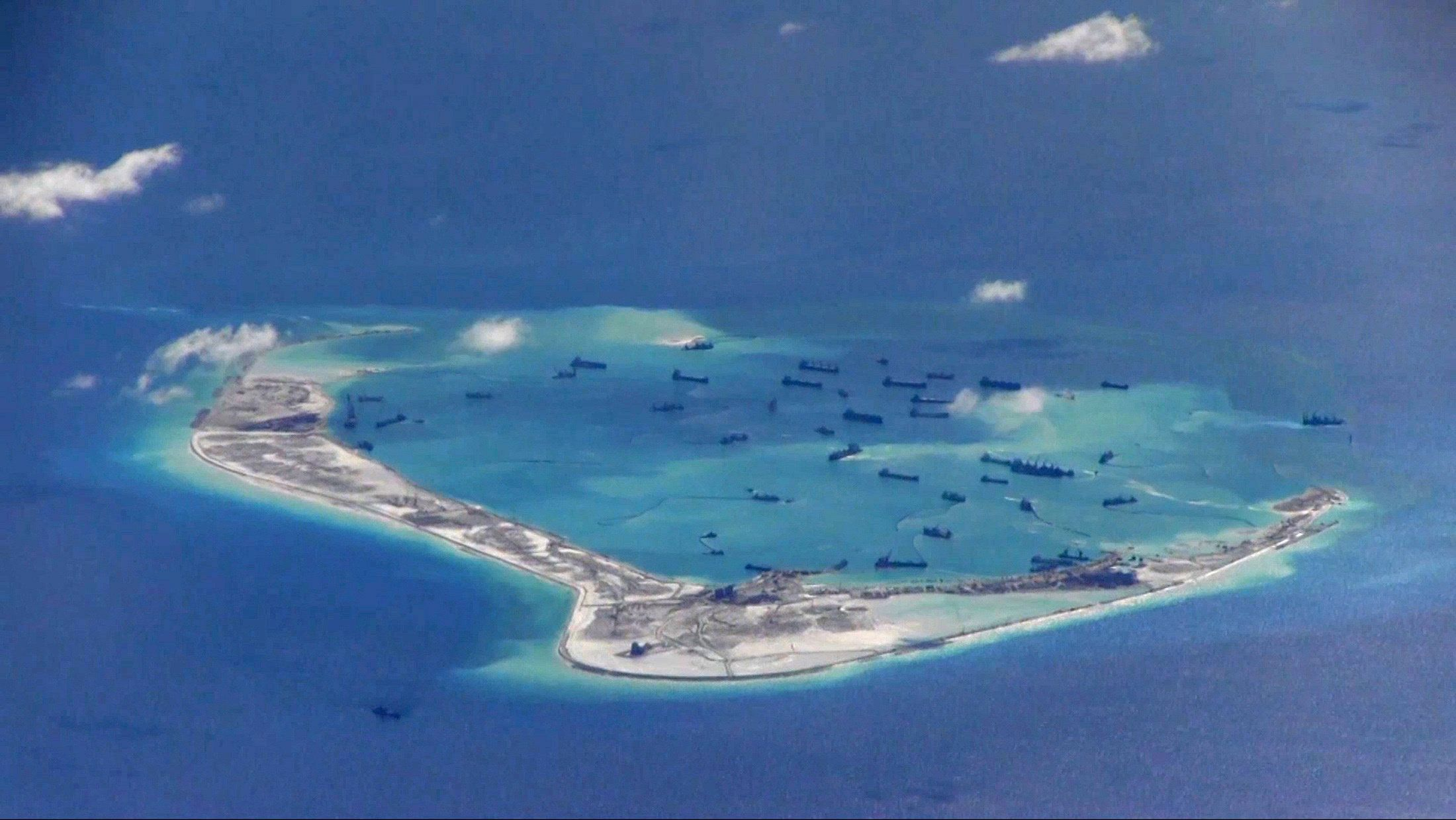 Mischief Reef Spratly Islands South China Sea