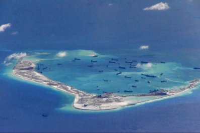Mischief Reef Spratly Islands South China Sea