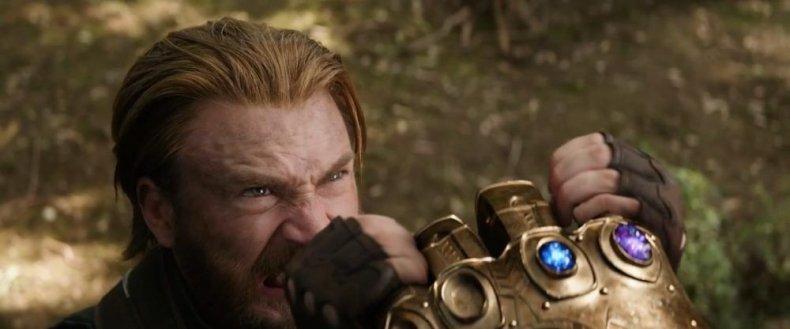 thanos infinity stones captain america avengers infinity war