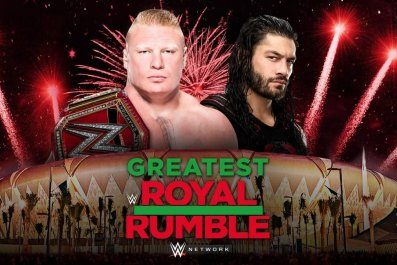 brock vs roman reigns greatest royal rumble