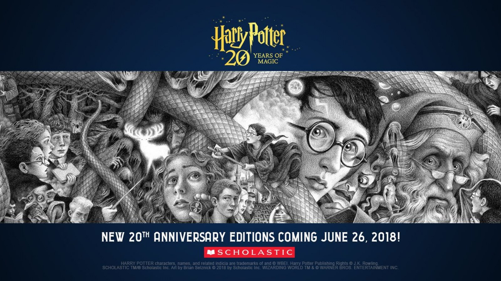 Seven New 'Harry Potter' Covers Unveiled for 20th