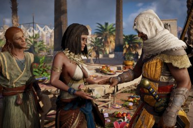 Assassin's Creed Origins 142 handshake
