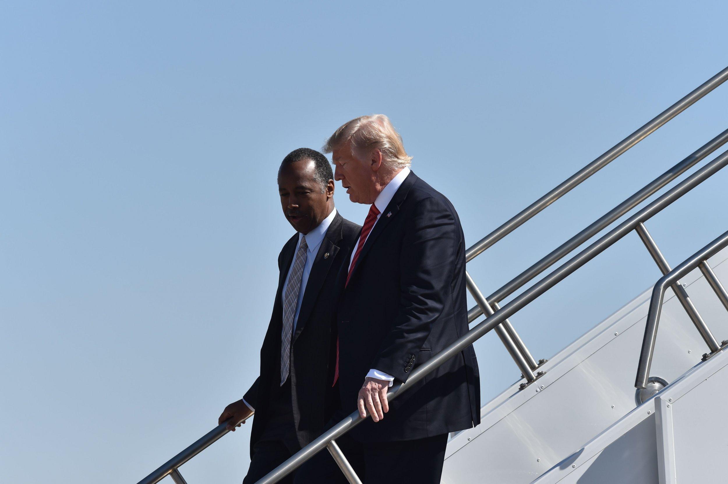 President-Trump-Ben-Carson
