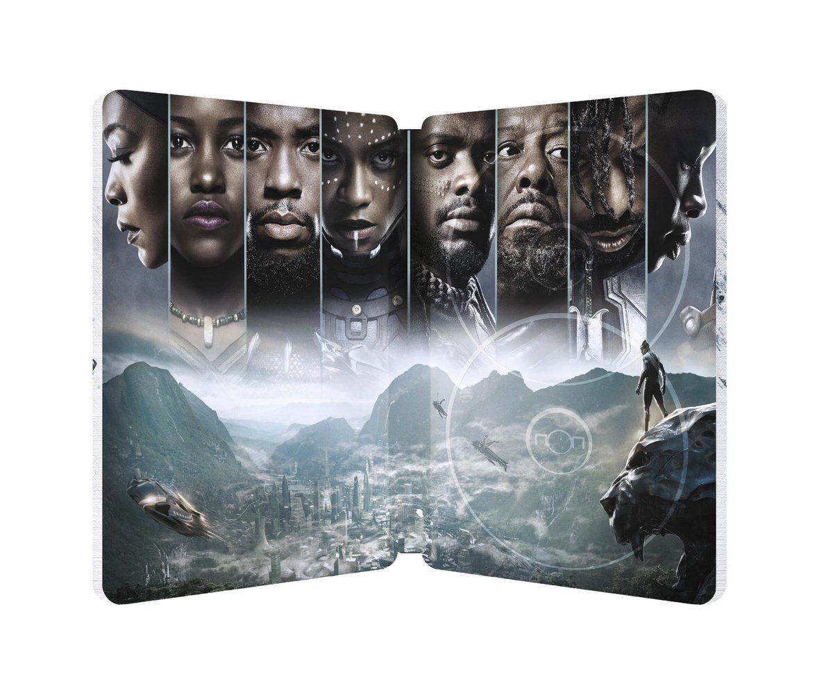 Black Panther Steelbook Blu Ray Release Pre Order And