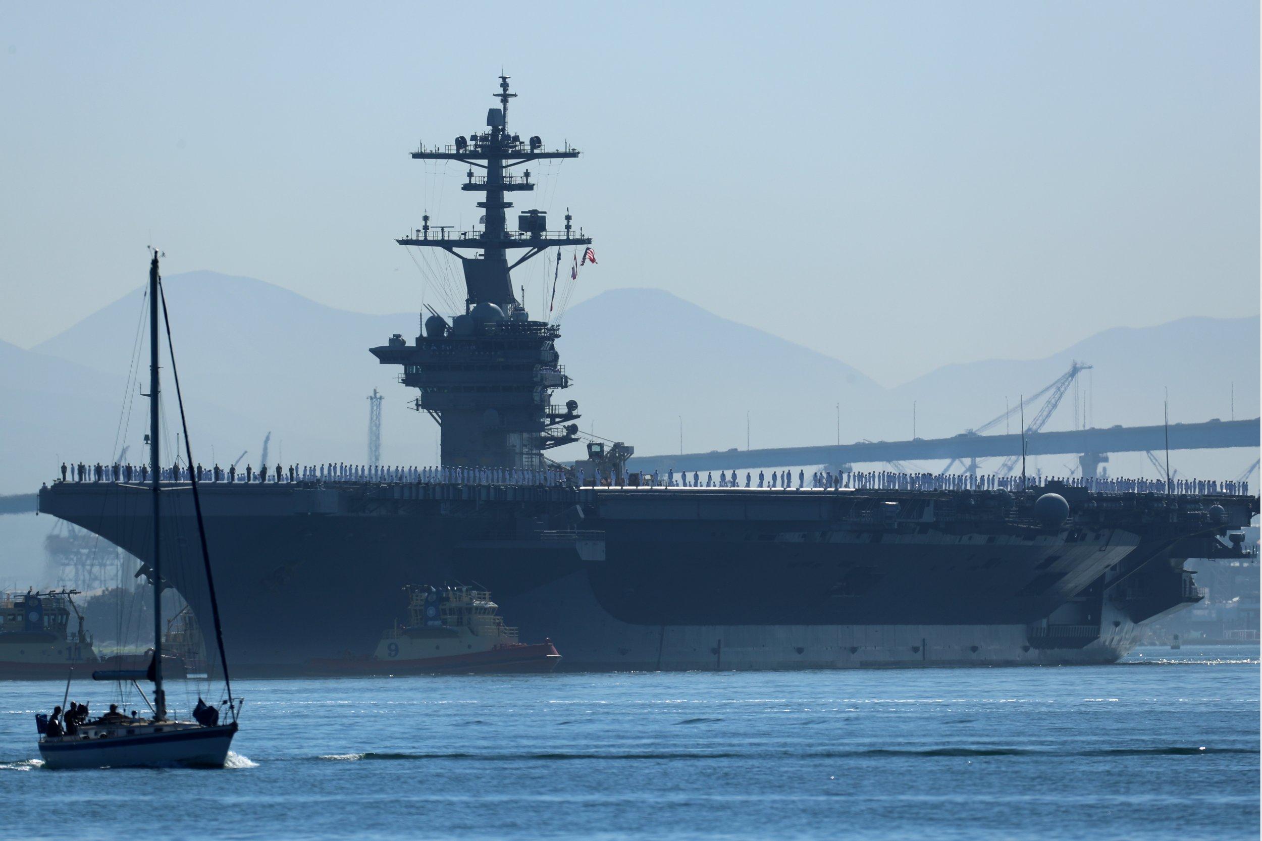 U.S. Warship Sails in Disputed Sea Amid Escalating ...