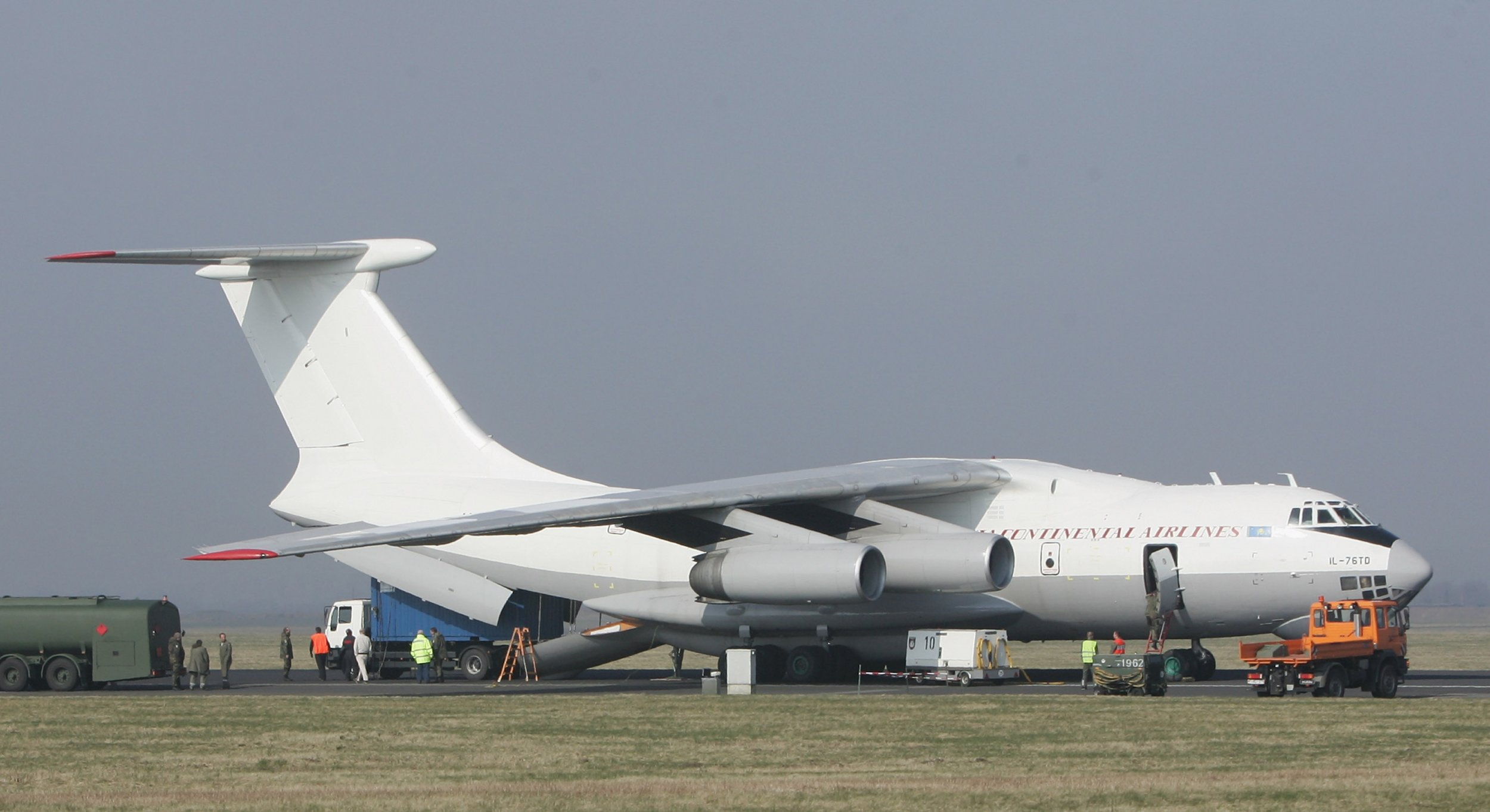 Il-76 transport plane