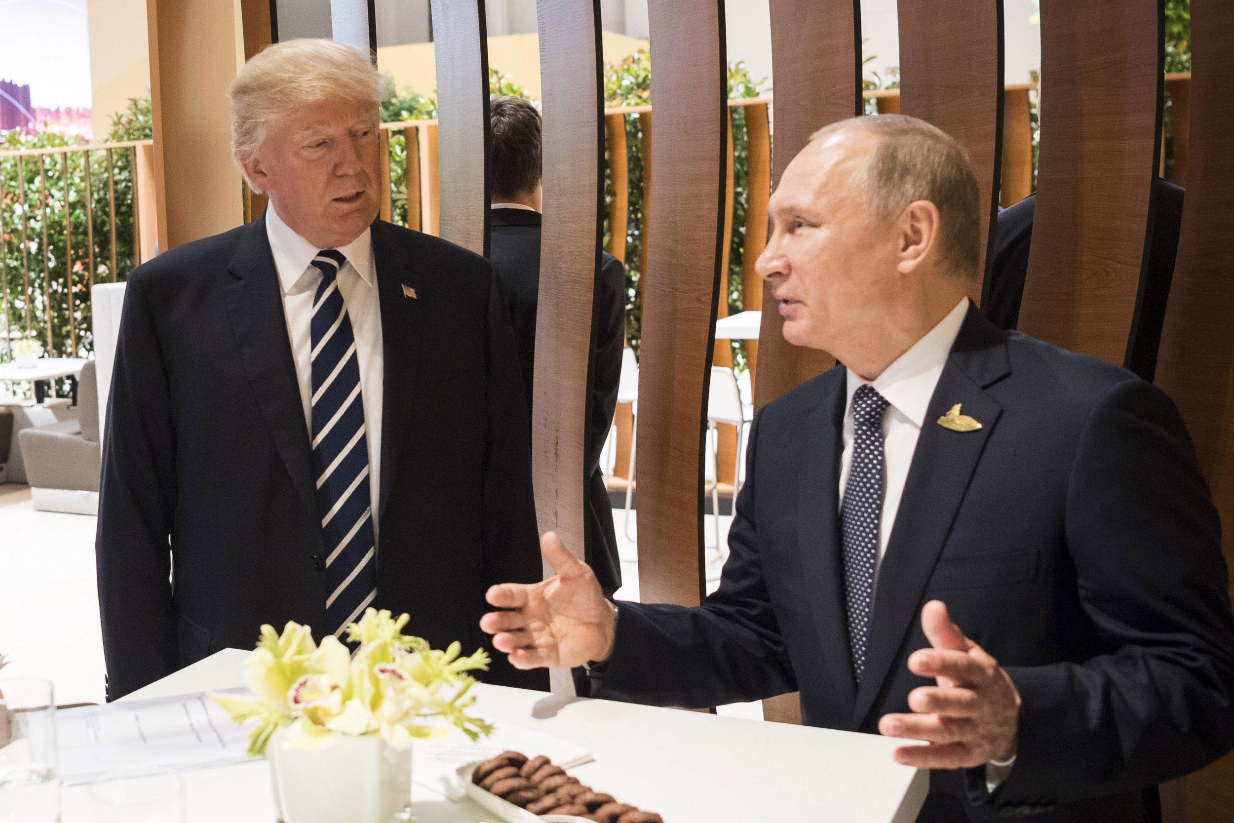 Trump and Putin-810209226