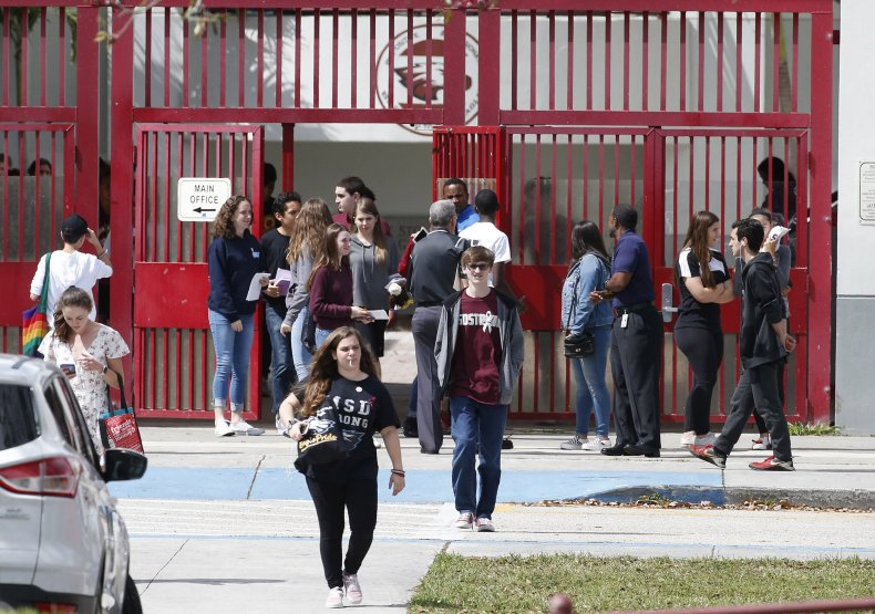 students leaving MSD hs