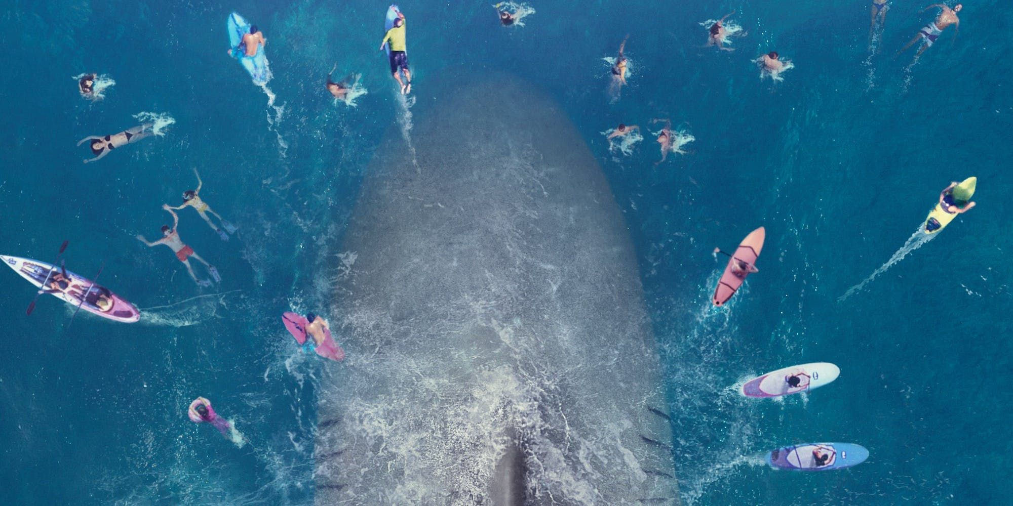 All 'The Meg' Trailer Shots From 'Jaws'