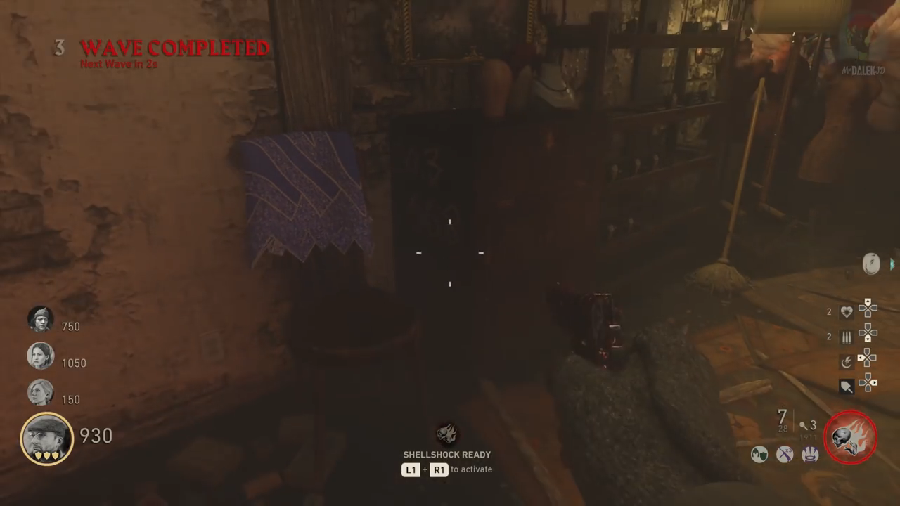 Shadowed Throne Easter Egg Freqwuency location 1