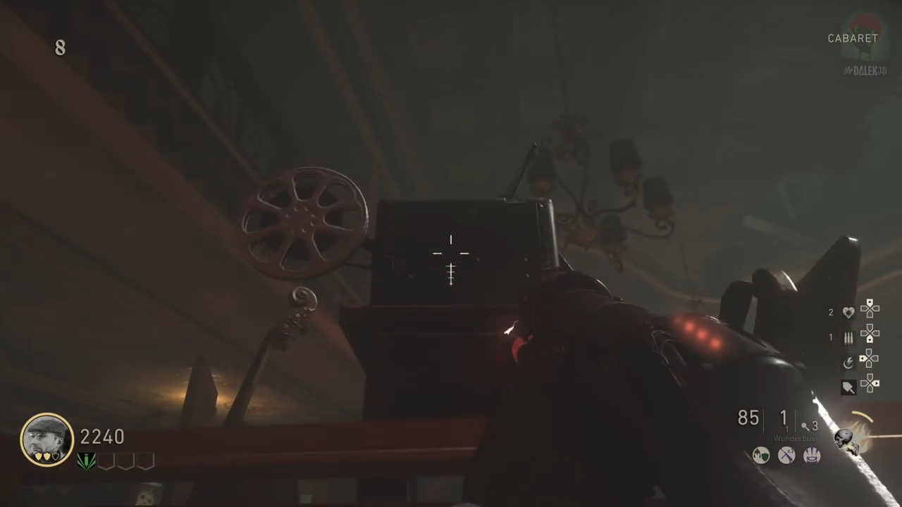 Shadowed Throne Easter Egg Projector