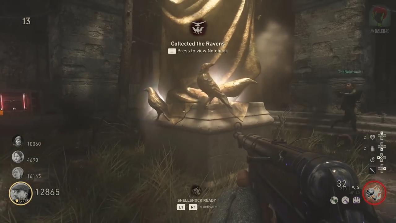 Call Of Duty: WWII' Shadowed Throne Easter Egg DLC 2 Guide & Walkthrough