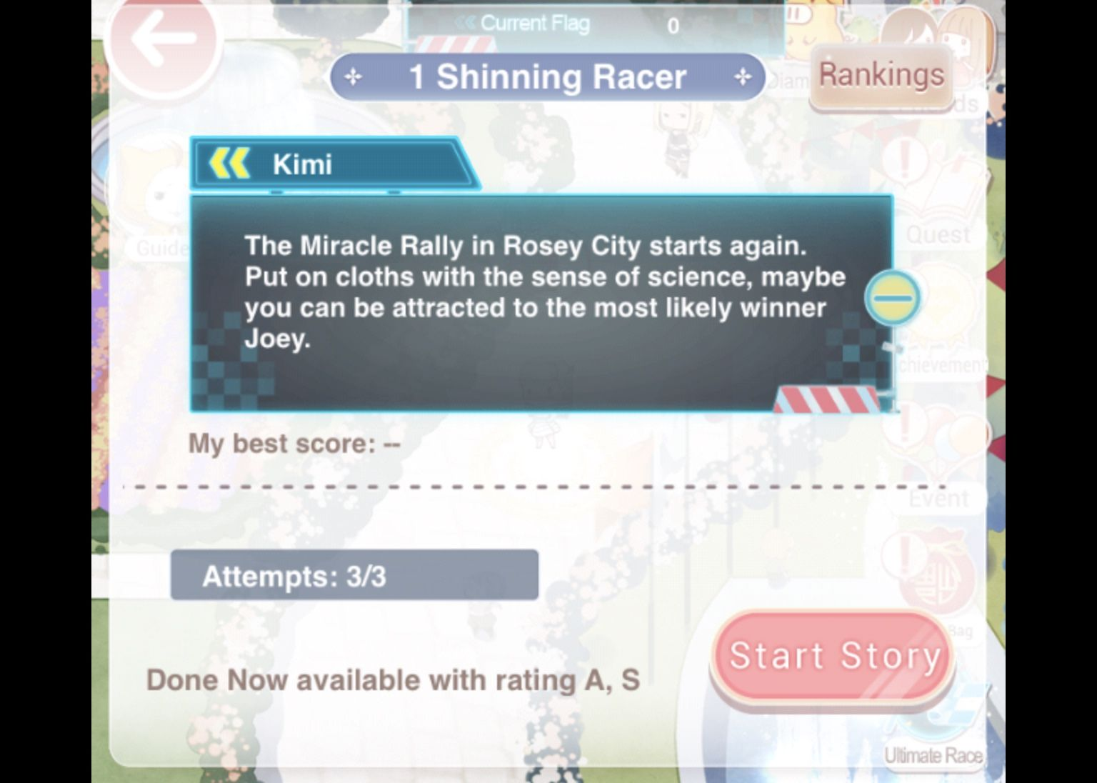 Love, nikki, ultimate, race, event, guide, quiz, stage, answers, shining, shinning, racer, suits, blue fantasy