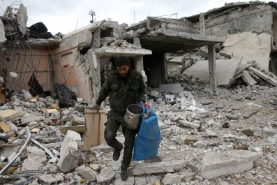 Syria bomb Douma