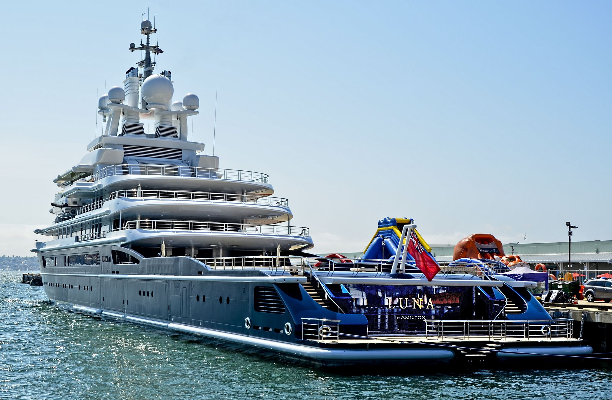 540 Million Yacht Of Us Blacklisted Russian Oligarch Impounded In