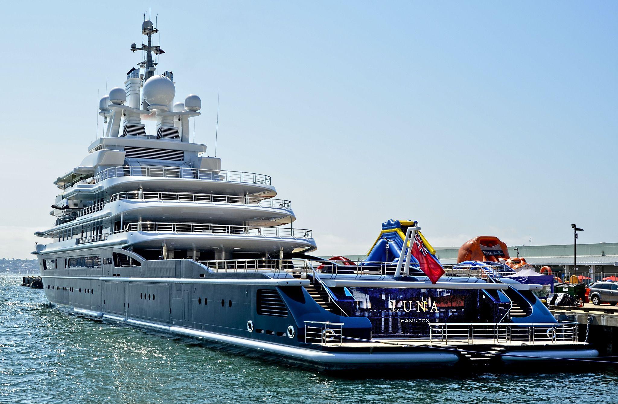 540 million yacht of u s blacklisted russian oligarch for Worldwide motors san diego ca