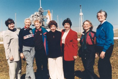 mercury 13 women at nasa
