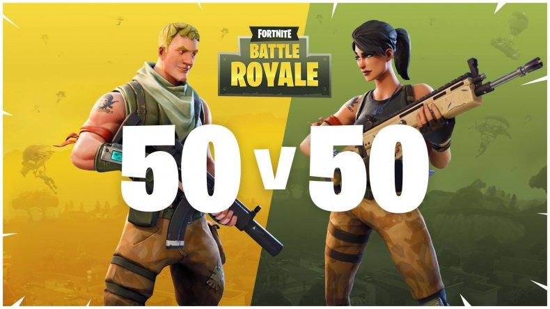 Fortnite 155 50v50