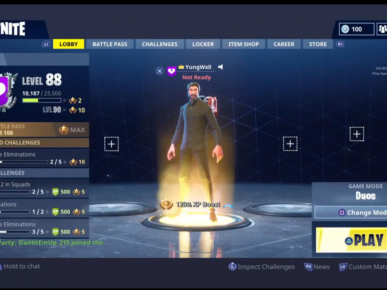 Lobby de matchmaking