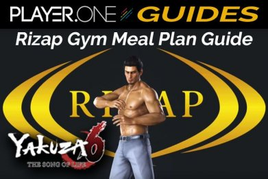 Yakuza 6 Rizap Gym Meal Plan Guide