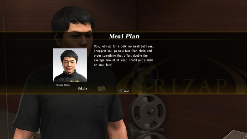 makuta meal plan clue yakuza 6 rizap challenge
