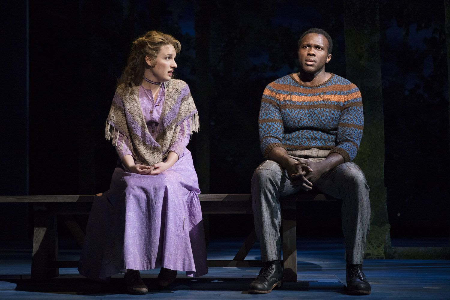 Jessie-Mueller-and-Joshua-Henry-in-CAROUSEL