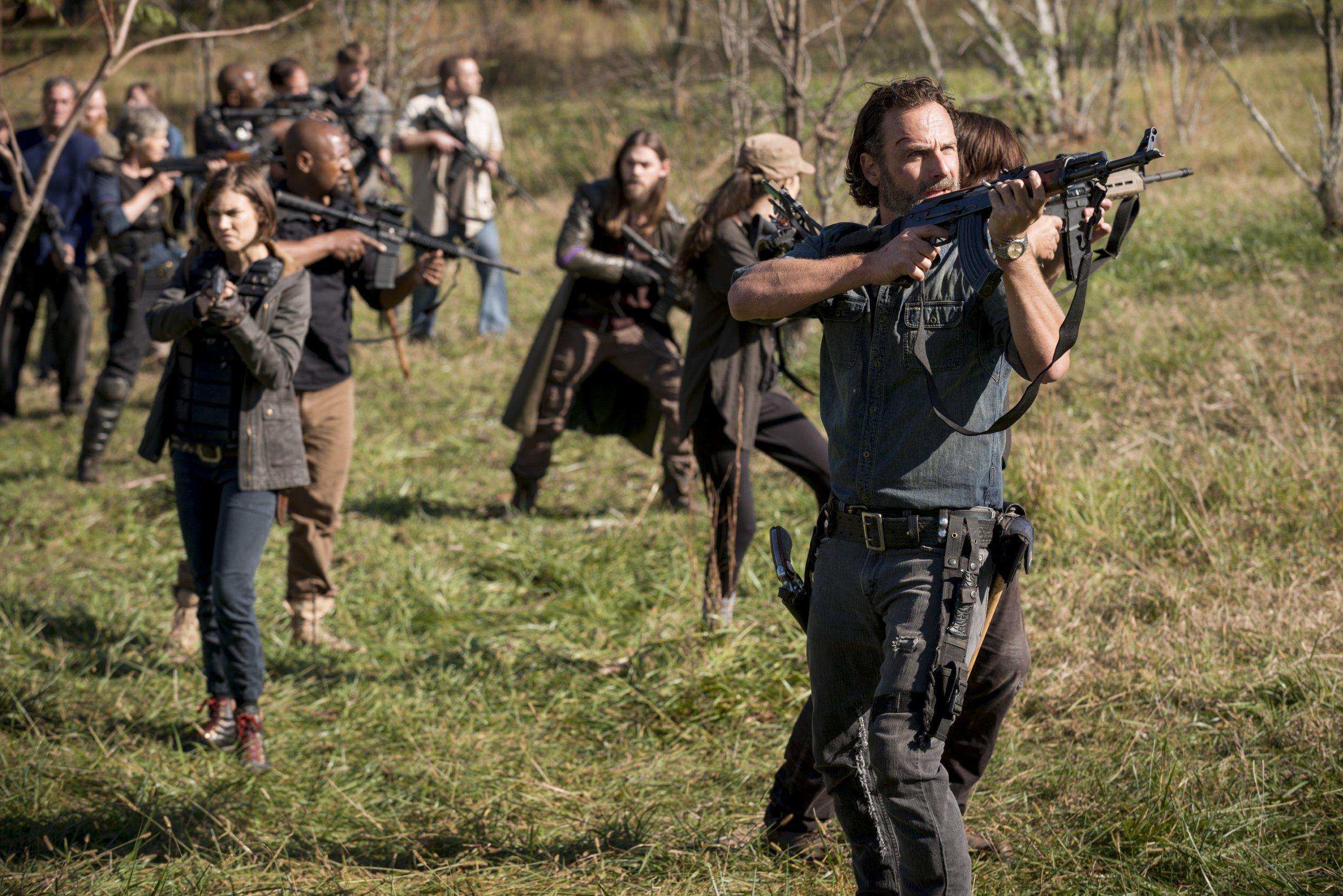 The Walking Dead Season 8 Finale Spoilers Tease Captured