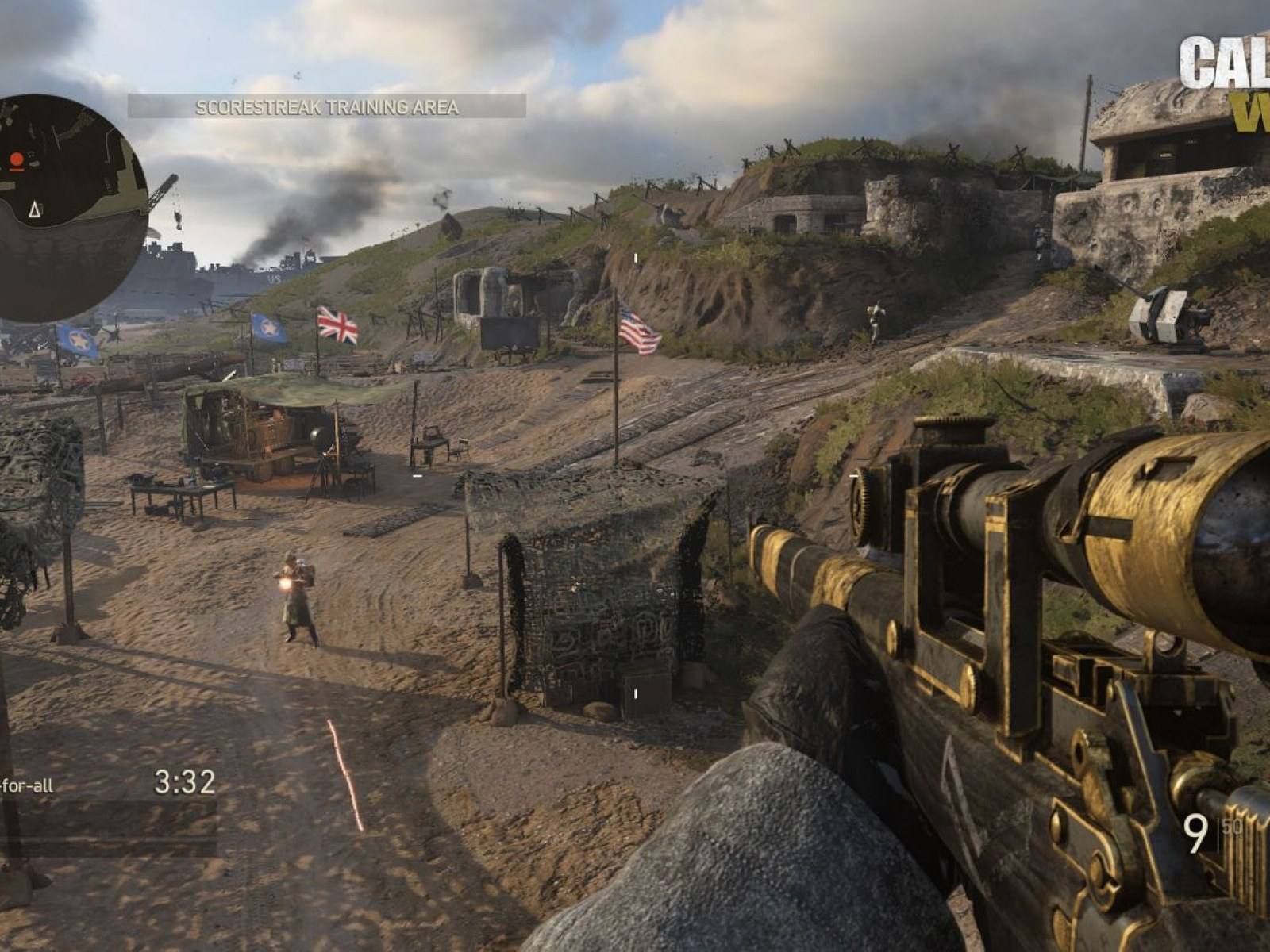 Call Of Duty Wwii Update Adds Headquarters Surprise Ground War