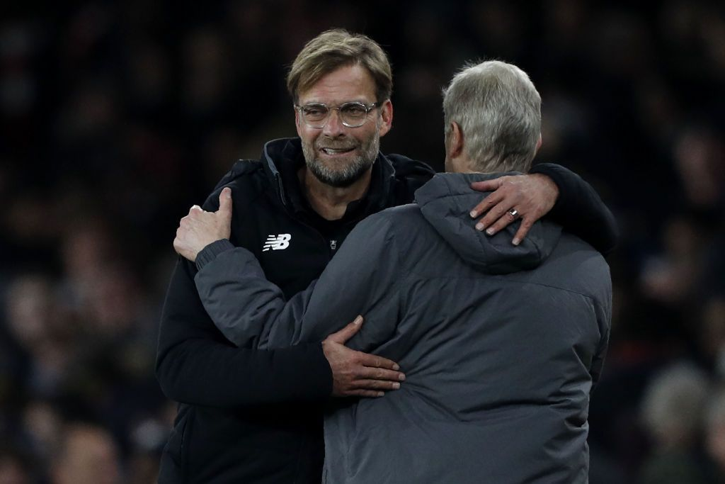 Klopp and Wenger