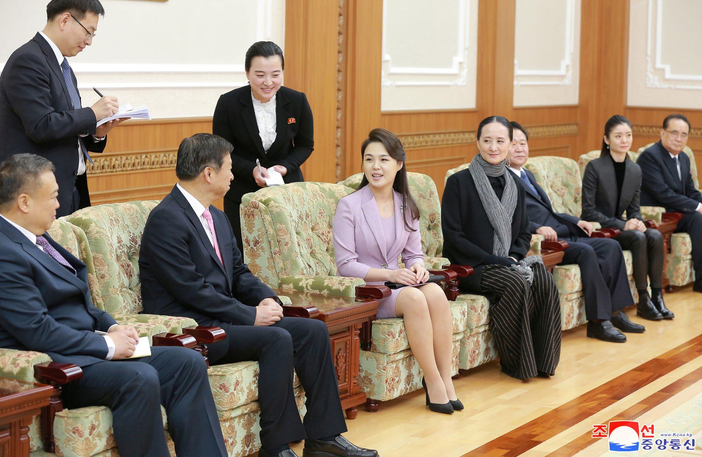 First Lady of North Korea Ri S...