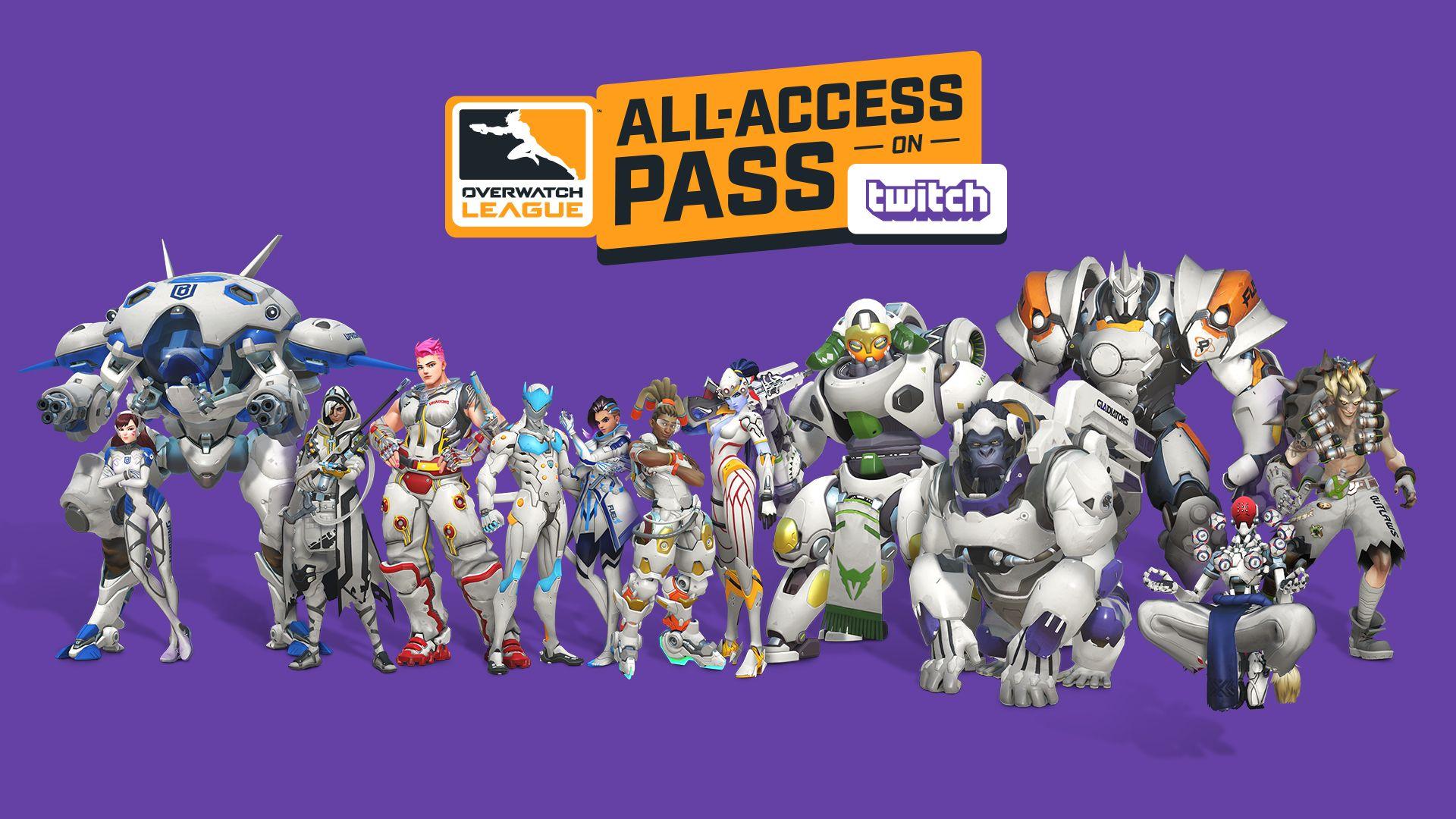 overwatch, league, away, skins, twitch, pass