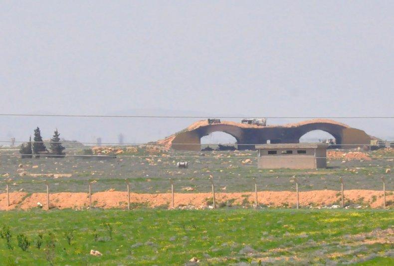 Shayrat air base Syria