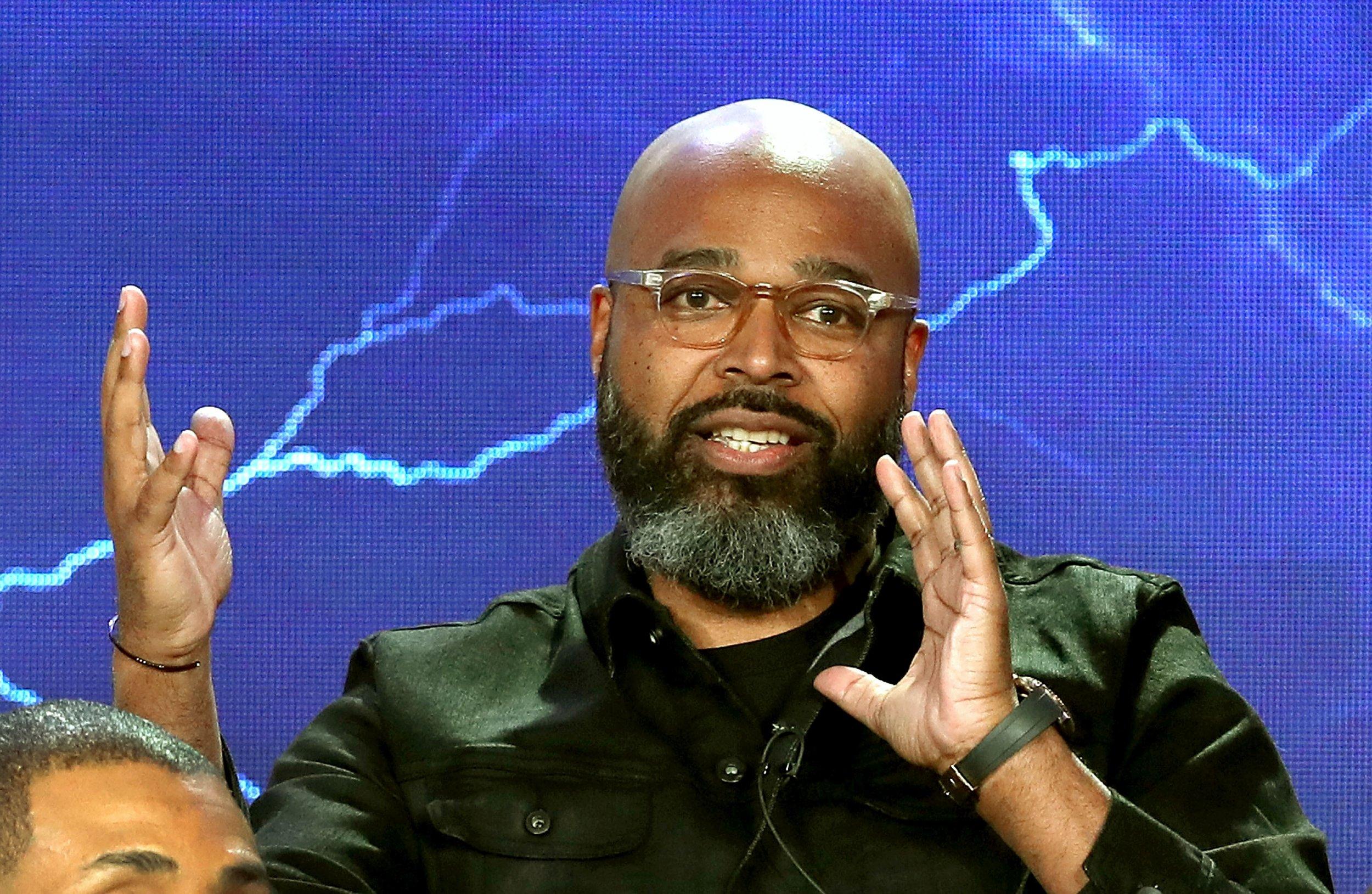 salim akil black lightning season 1 finale interview
