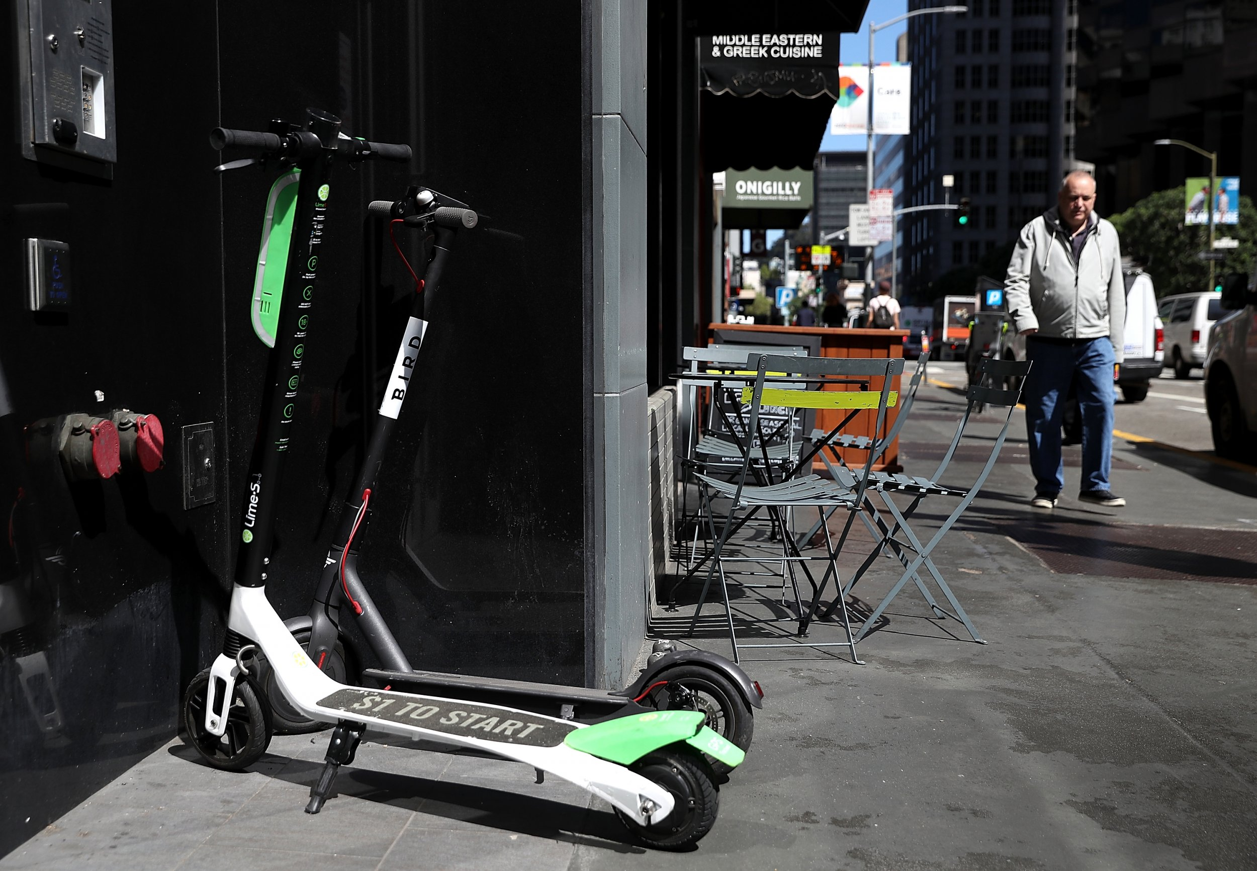 Electric Scooter Public Nuisance San Francisco To