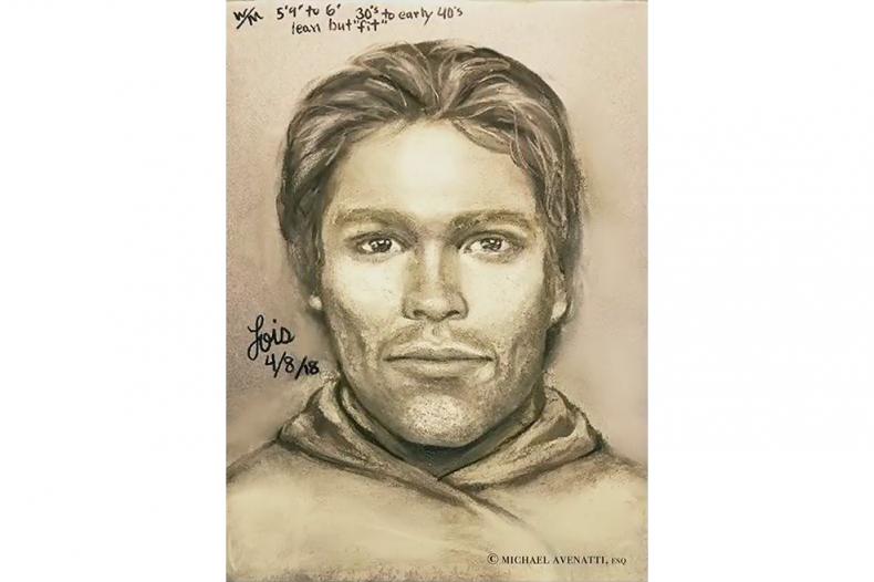 Sketch of Stormy Daniels assault suspect