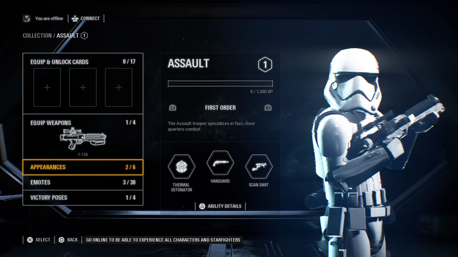 Star Wars Battlefront 2 Skins List Appearances In April Update Beyond
