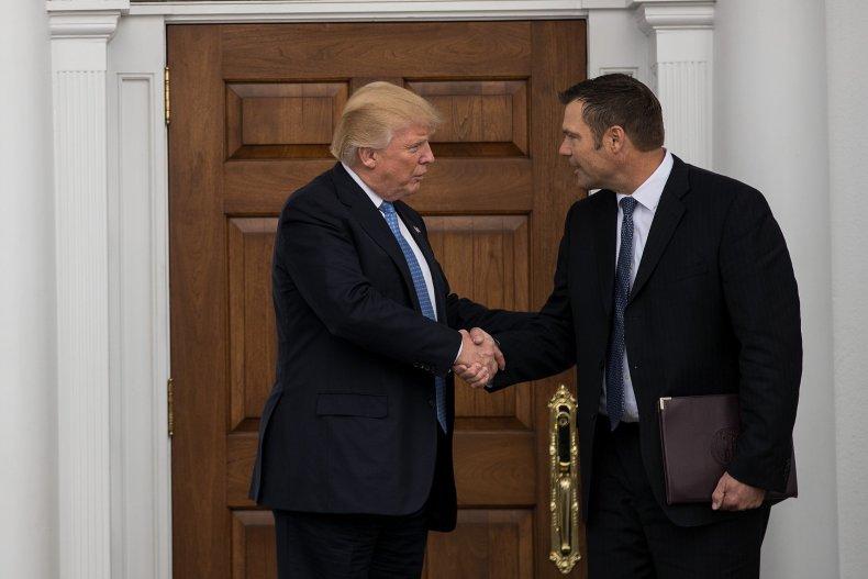 Kobach and Trump