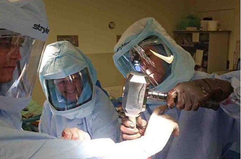 Mjolnir surgical hammer