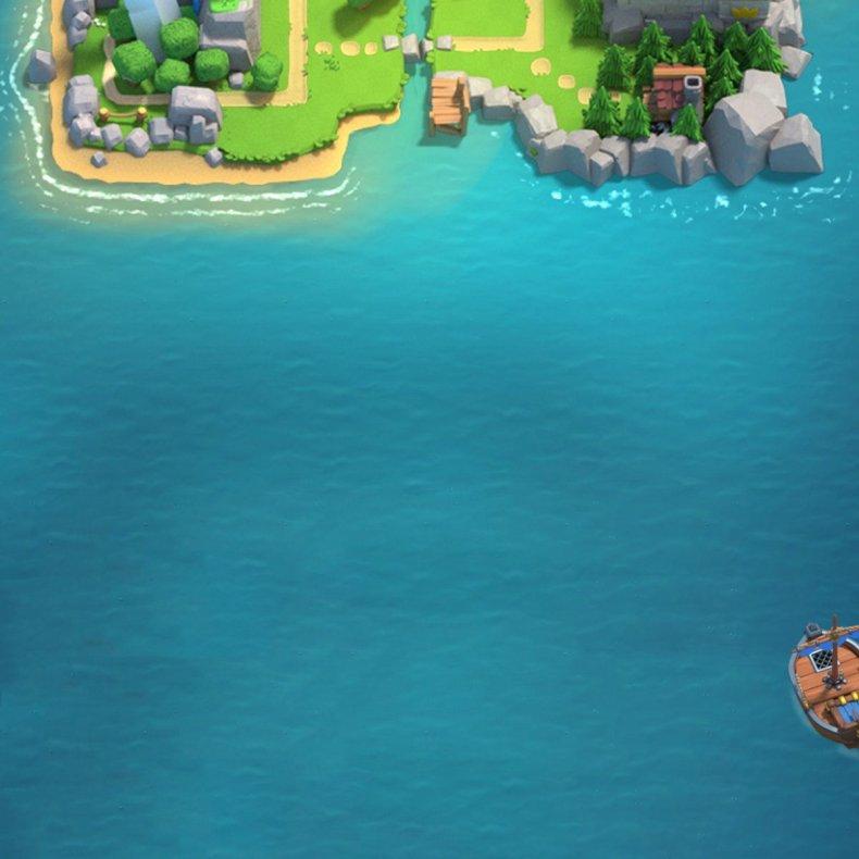 clash royale April 2018 update release date island clan wars ship twitter