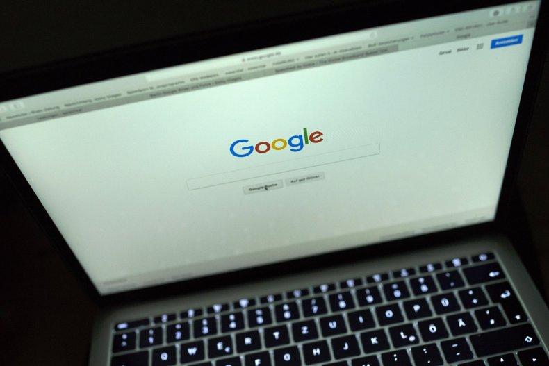 Google display on laptop