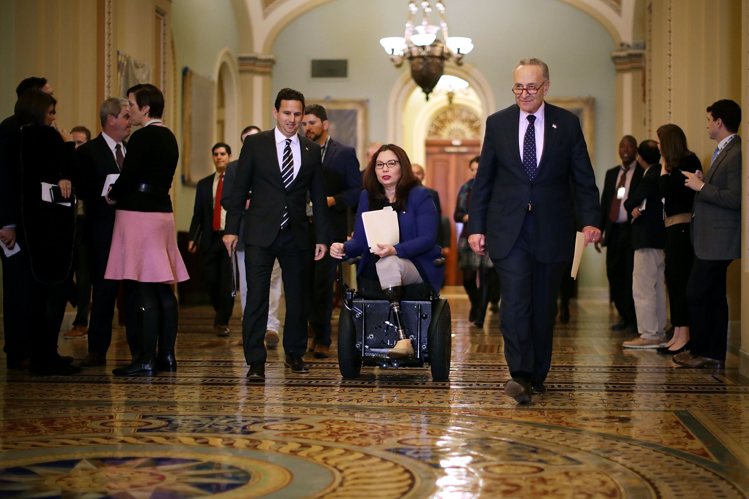 Some Republicans Wanted Tammy Duckworth To Vote With Her Baby From Senate Cloakroom